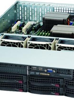 2xIntel Xeon X5650 2.67GHz, Supermicro X8DT3-F, 96Gb, 1440w. Киев