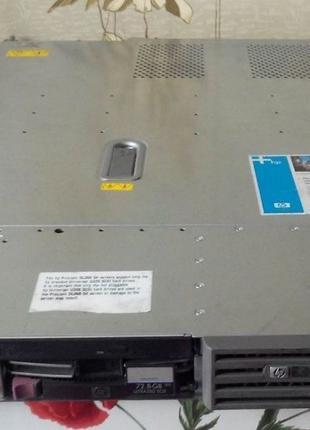 Бу старый сервер HP ProLiant DL360 G4 [379753-421] Xeon DC 3.2...