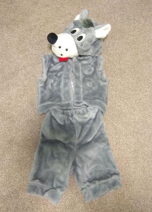 Костюм волка. Детские карнавальные костюмы.