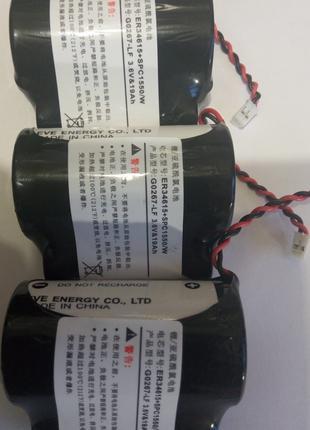 Сборка из Li-SO2 батарея ER34615, на 3.6V, 19000 mA/h размер - D