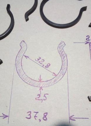 Стопорное кольцо внутреннее крестовины ТАТА Эталон