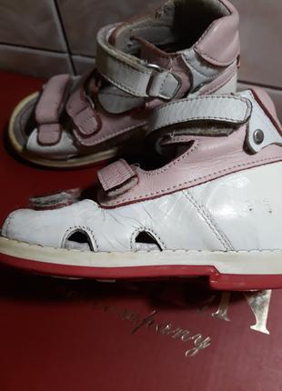Детская ортопедическая обувь, ортопедические босоножки, 22-23 раз