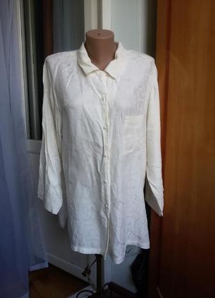 Шелковая рубашка triumph 100% шелк