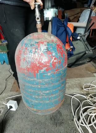 Балон газовий, вживаний