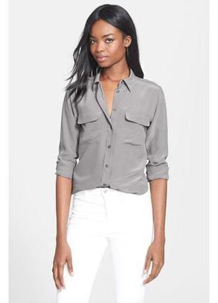 Шелковая рубашка nulu / 92% шелк , 8% эластан