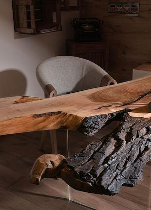 Офисные столы из натурального дерева под заказ