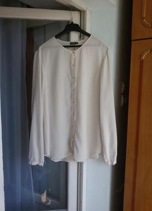 Шелковая блуза no man's land 100% шелк