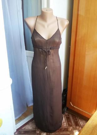 Соблазнительное шелковое платье karen millen с открытой спиной...