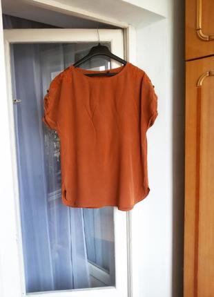 Шелковая блуза promiss 100% шелк