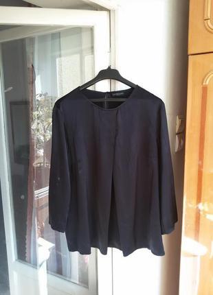 Шелковая блуза cappellini / шелк, эластан
