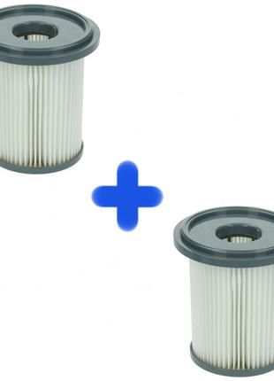 2 Фильтра цилиндрический для пылесоса Philips HEPA 432200493320