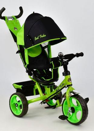 Детский трёхколёсный велосипед Best Trike 6588, 5700 поворотно...
