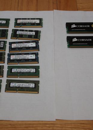 Оперативная память Ноутбук ПК Corsair XMS Kingston DDR3 DDR2