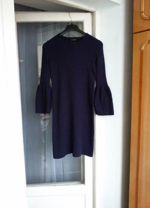 Шерстяное платье massimo dutti