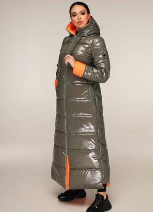 Пуховик с капюшоном, пальто зимнее.