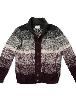Replay vintage knit cardigan мужской свитер кардиган gant ralp...