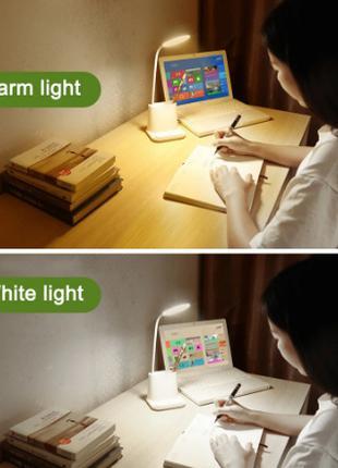 Лампа настольная аккумуляторная LED Bionic Desk Lamp сенсорная