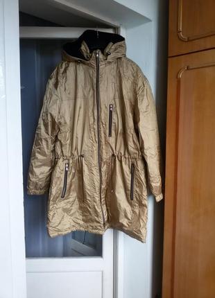 Качественная демисезонная куртка парка gore - tex