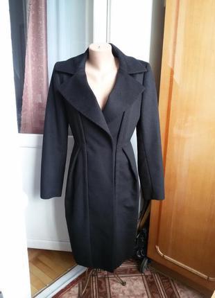 Шерстяное пальто max mara sportmax