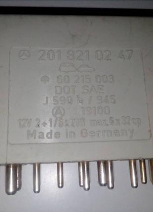 201 821 02 47 комбинированное реле поворотов дворников на Мерседе