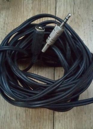 Удлинитель аудио кабеля 6м