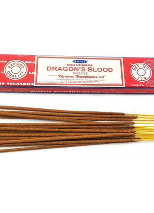 Благовоние Dragons Blood(Кровь Драконов) Satya 15г.
