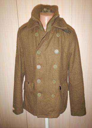 Супер пальто куртка бушлат superdry p.m