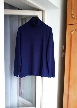 Фирменный кашемировый свитер с высоким воротом / гольф fleur 1...