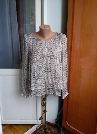 Шелковая блуза max volmary 100% шелк