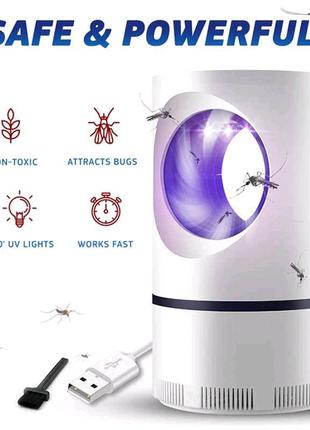Лампа от комаров, Низковольтная лампа-убийца от комаров USB UV эл