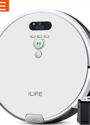 ILife V8 Plus: робот-пылесос с влажной уборкой и большим конте...