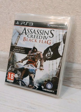 Assassin's Creed Black Flag ENG PS3 + BONUS | Обмен