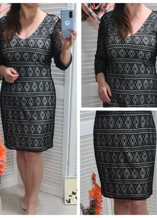 Платье кружевное marc new york
