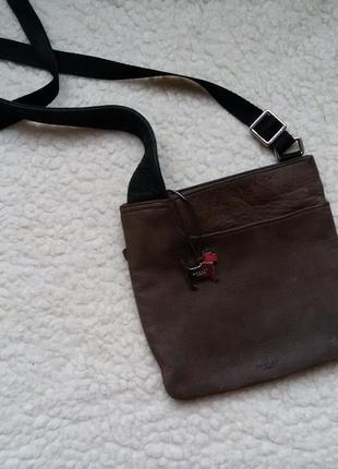 Кожаная сумка кросс боди / мессенджер / radley