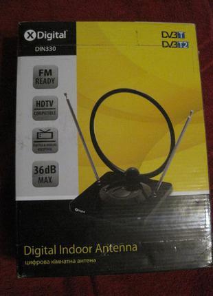 Цифровая комнатная антенна X Digital DIN 330 .