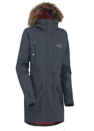 Мембранная куртка парка / w haugo parka от kari traa норвегия
