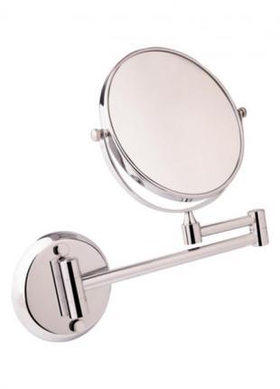 Зеркало косметическое настенное Lidz 140.06.06 поворотное двухст