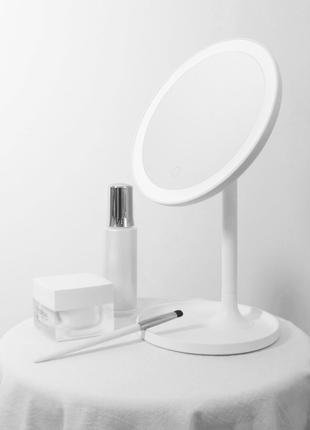 Зеркало для макияжа Xiaomi DOCO Daylight Mirror HZJ001 LED подсве