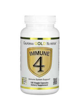 Immune4, Витамин С 500 + Цинк + D3, 180 капсул