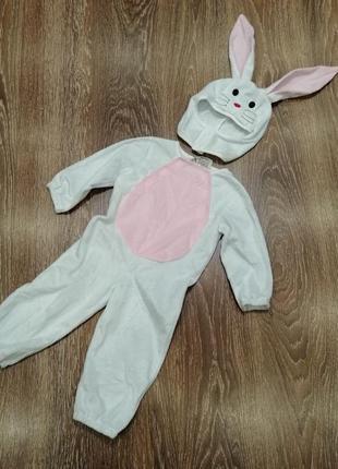 Карнавальный костюм заяц кролик зайчик