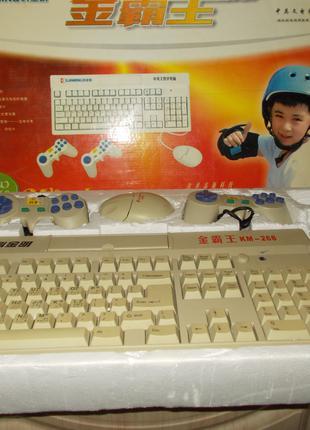 Игровая 8бит приставка-клавиатура с мышкой