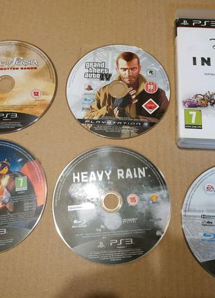 Диски Sony PlayStation 3 gta, lego