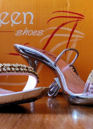 Модельні босоніжки (туфлі) Soleen