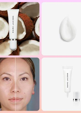 Marc jacobs under cover blurring coconut face primer праймер б...