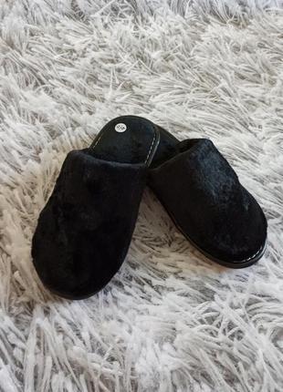 Тапочки домашние, тапки текстильные, женская обувь для дома