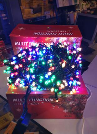 Гирлянда светодиодная NY - 401 LED x 32 м Color
