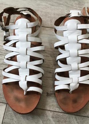 Босоножки сандалии женские натуральная кожа 22см 22.5см