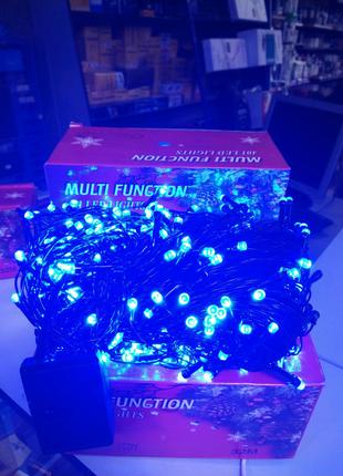 Гирлянда светодиодная NY - 401 LED x 32 м Blue