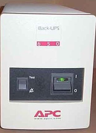 Ибп APC Back-UPS Pro 650VA 410W BP650MI нет аккумуляторной бат...
