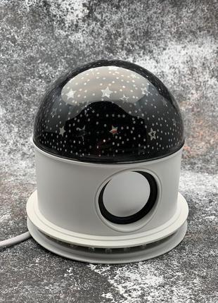 Ночник проектор звездное небо с bluetooth колонкой
